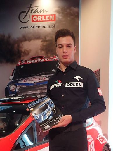 Hubert Ptaszek - kierowca Orlen Team WRC2