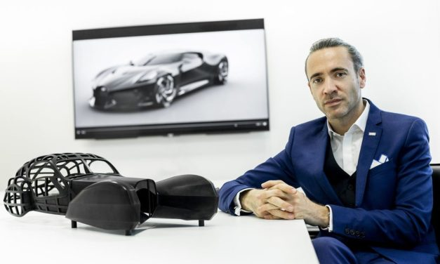 Bugatti La Voiture Noire – Czarny, jedyny