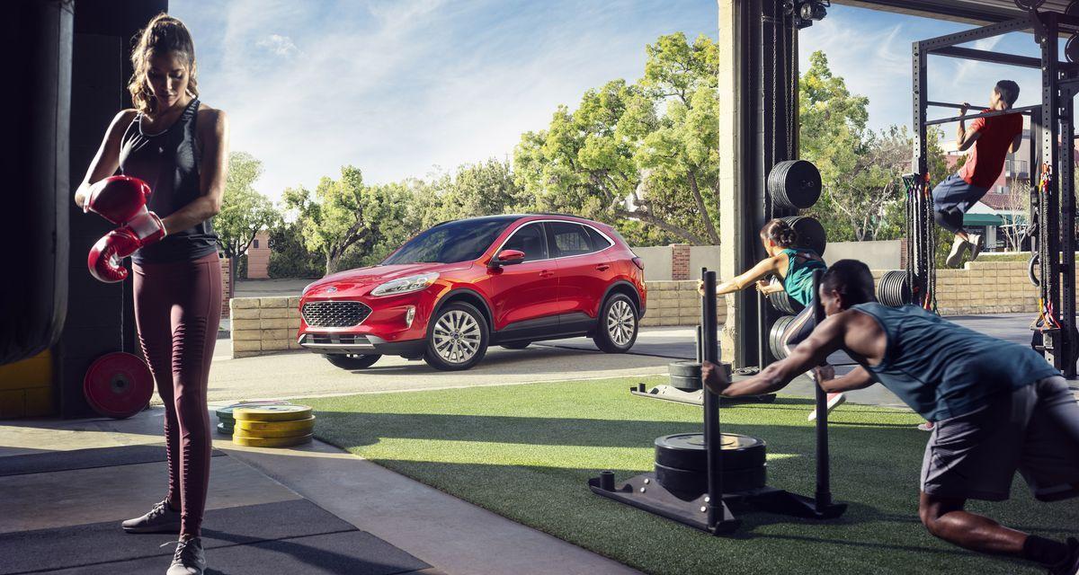 Ford Kuga – Gotowa do skoku