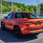 Skoda Mountiaq – 2-drzwiowy pickup