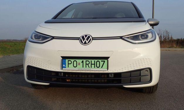 VW ID.3 1st Pro Performance – Tydzień na prądzie