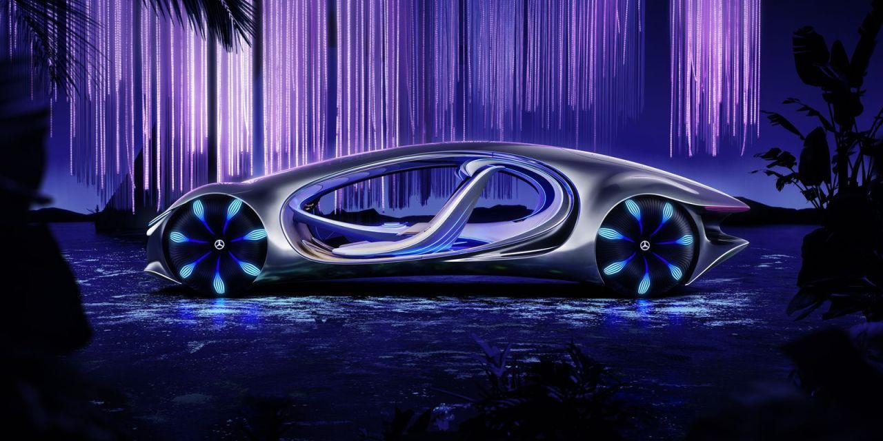 Mercedes-Benz Vision AVTR – Bioniczna przyszłość