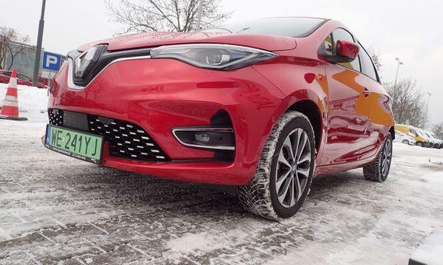 Renault Zoe 135Z Intense – Raport z jazdy zimą