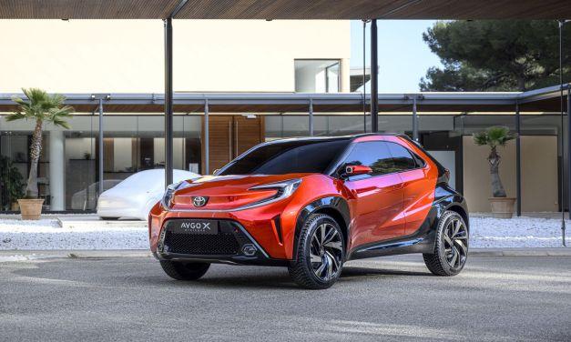 Toyota Aygo X Prologue – Crossover segmentu A