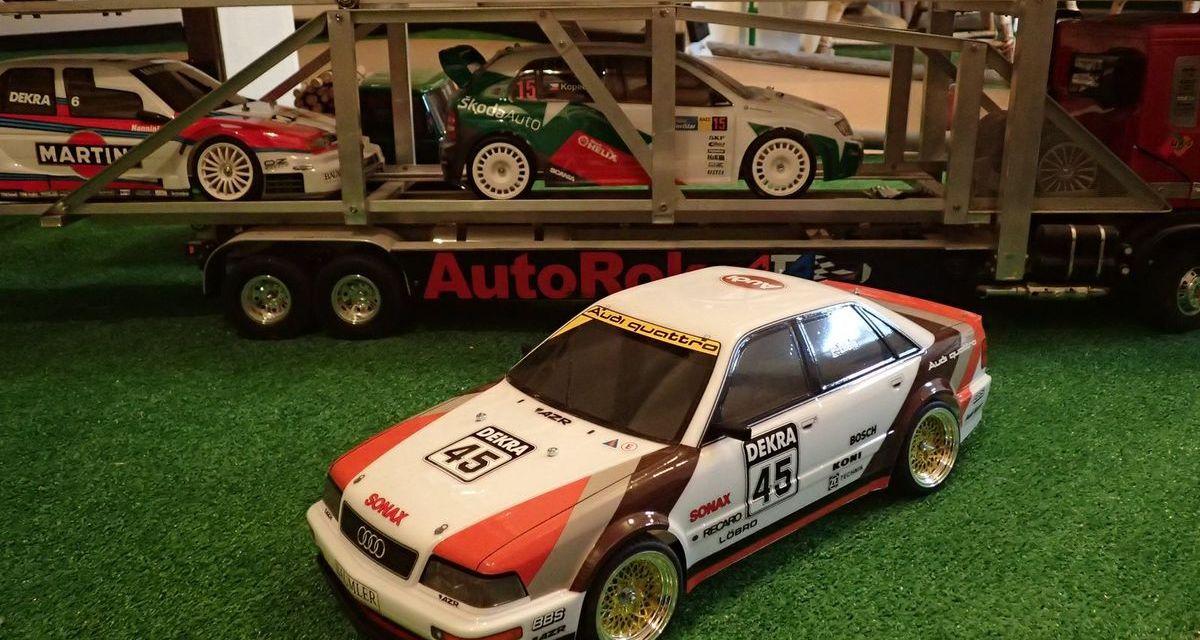 Tamiya Audi V8 Touring 1991 TT-02 – Quattro z DTM