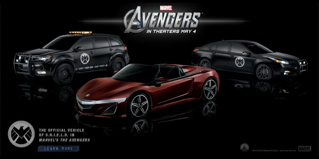 Acura and the Avengers