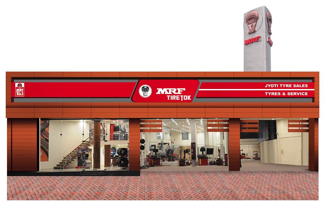 MRF opens MRF TireTok, wheel alignment and balancing centre