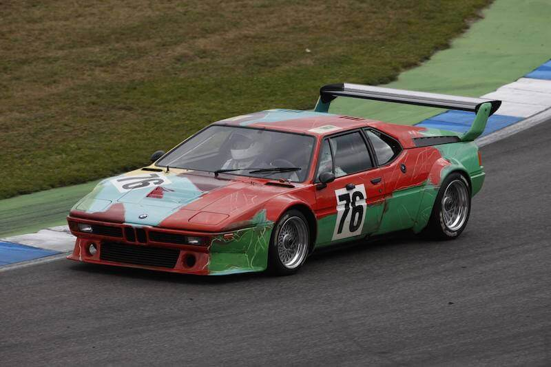 Andy Warhol BMW M1 Art Car 1