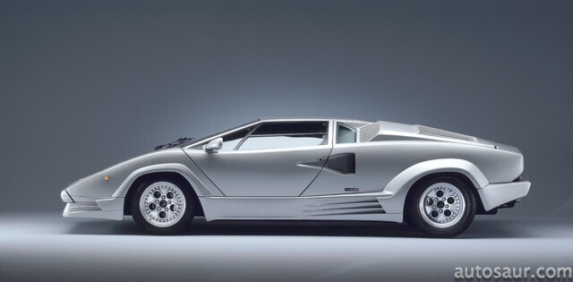 Lamborghini Countach pictures adorned many schoolboy's bedroom walls.