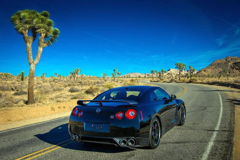 2014 Nissan GTR Track Edition rear view
