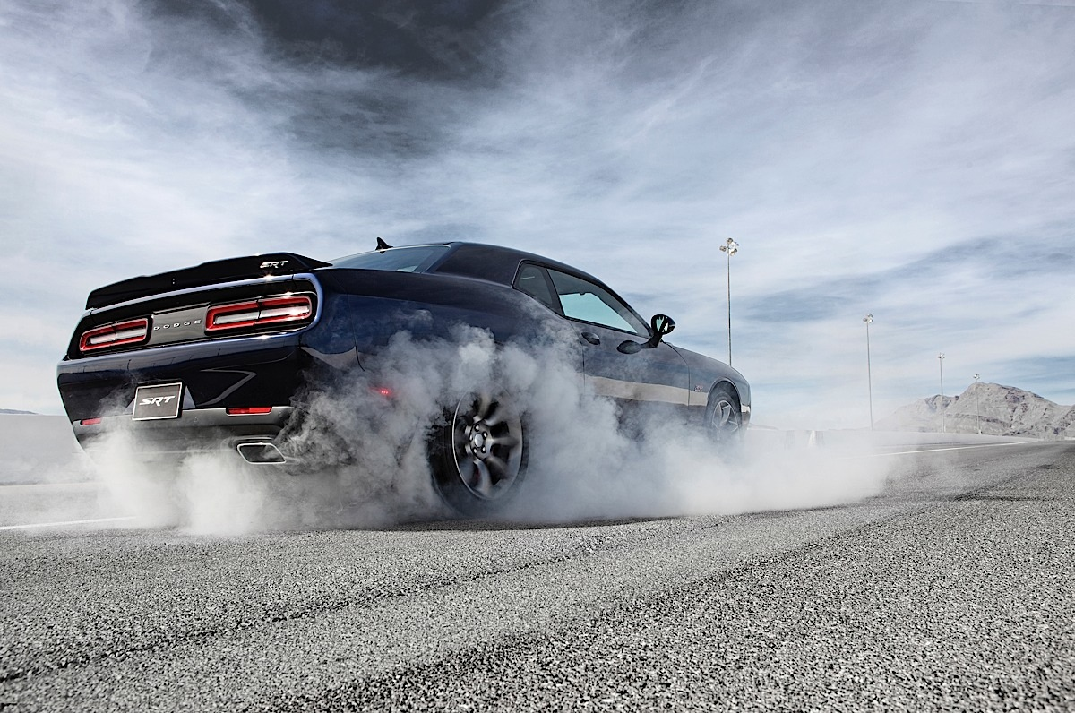2015 Dodge Challenger SRT Supercharged black