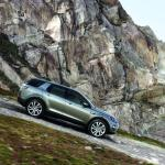 The Land Rover Discovery Sport can tackle one-in-one slopes.