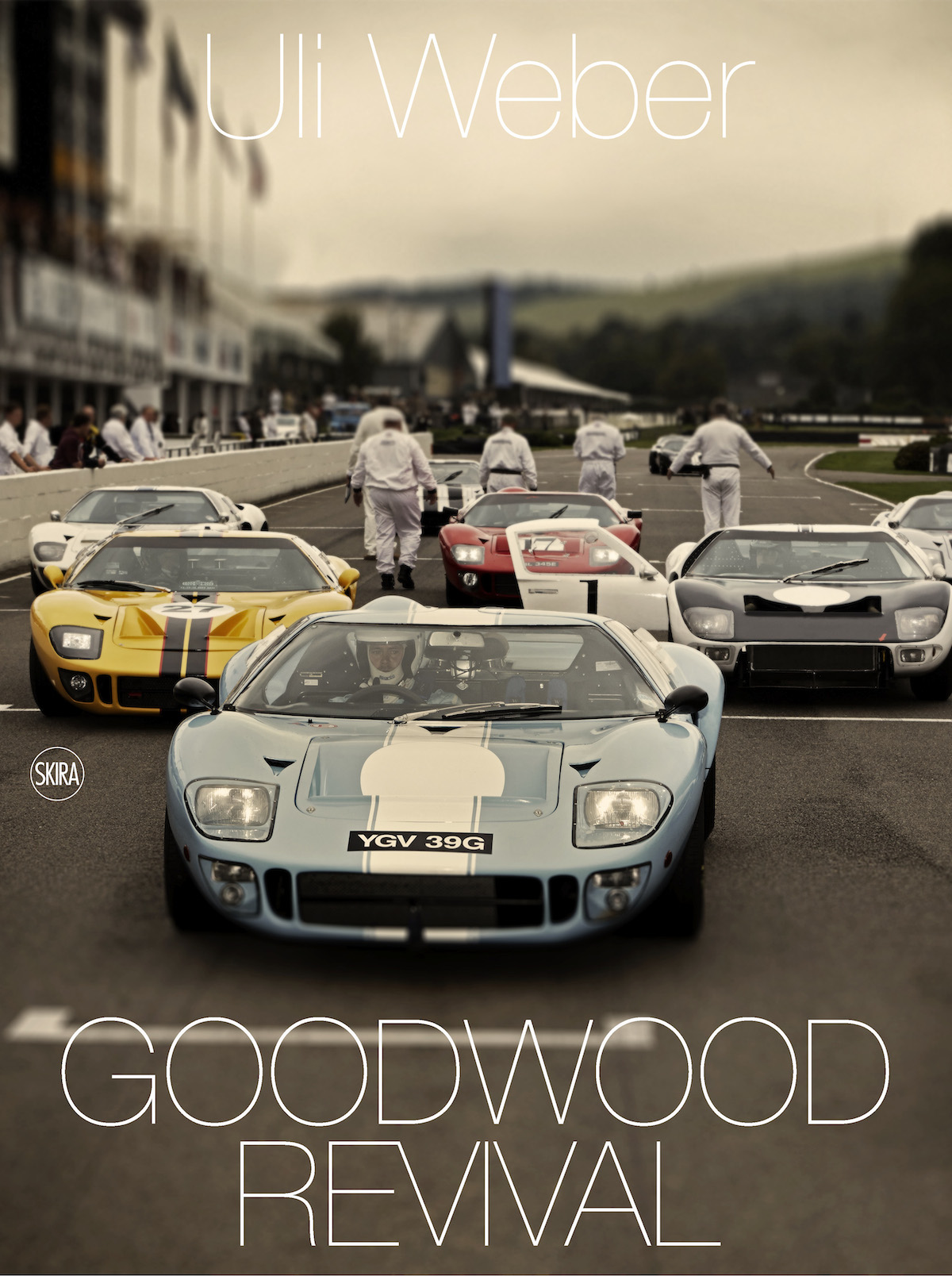The front cover of Uli Weber's new Goodwood Revival book