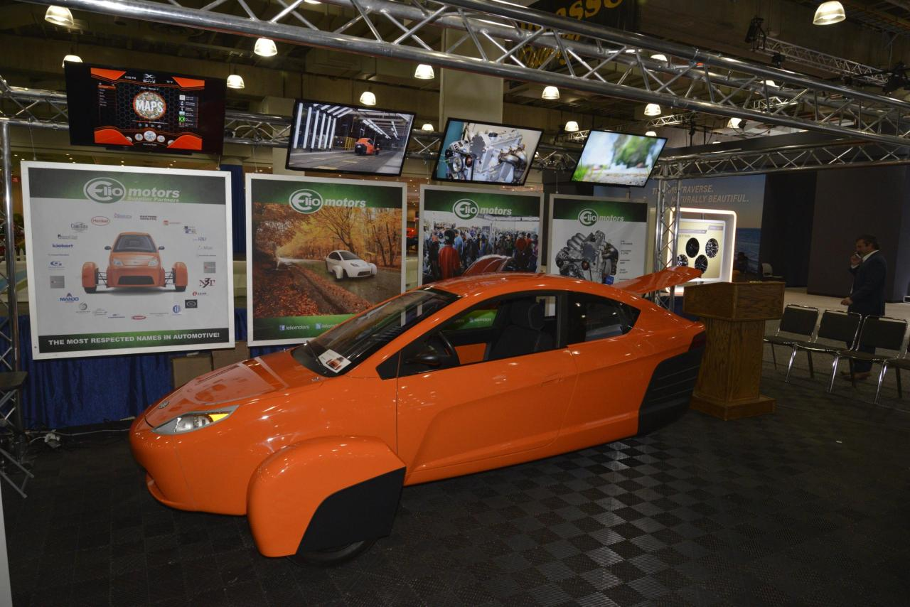 Elio Motors at the 2015 New York International Auto Show