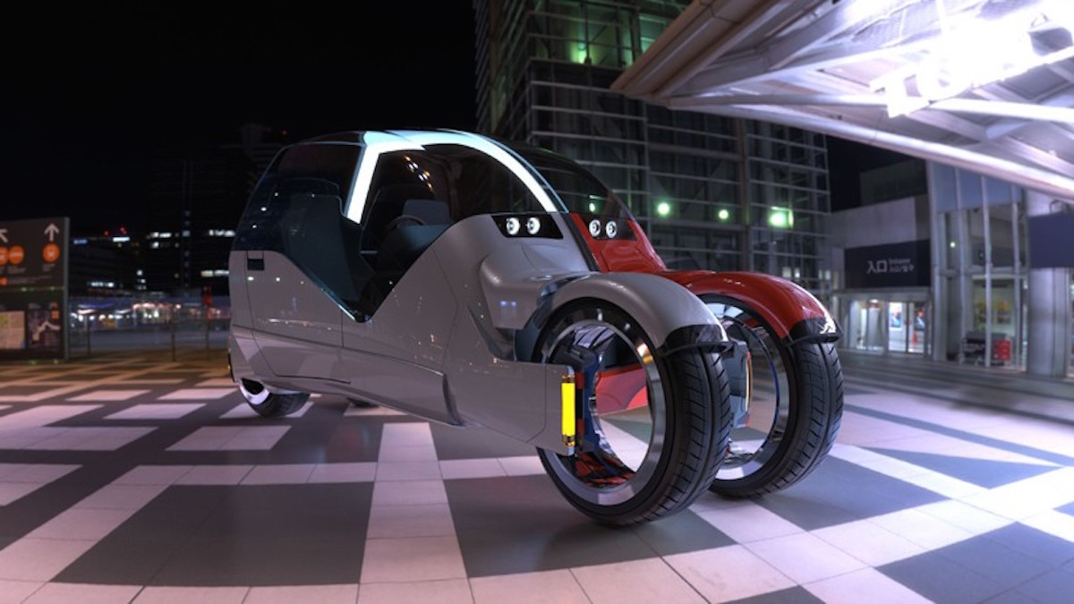 This Car Splits Into Two Motorbikes At The Push Of A Button