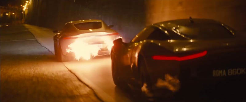 Flame-throwing Aston Is Star Of New Bond Film Spectre