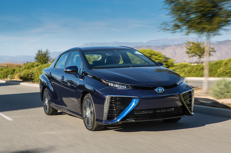 Zero-Emission Toyota Mirai Costs As Little As $45,835