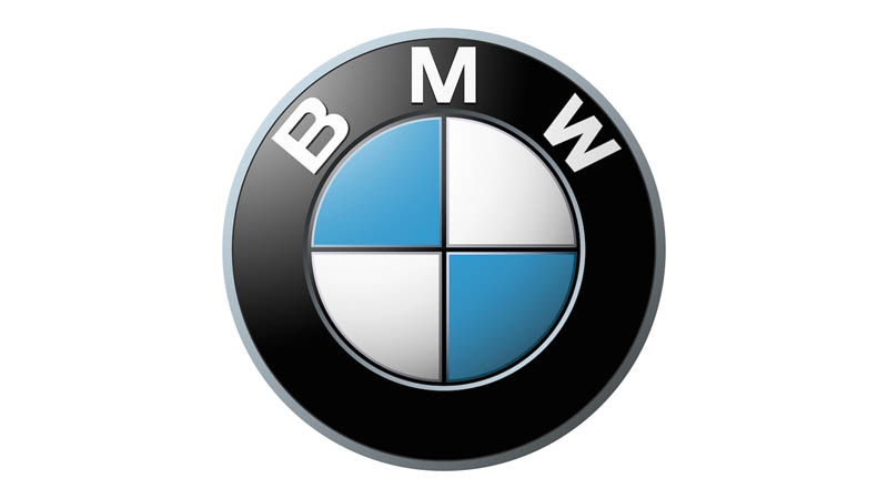 Large BMW logo