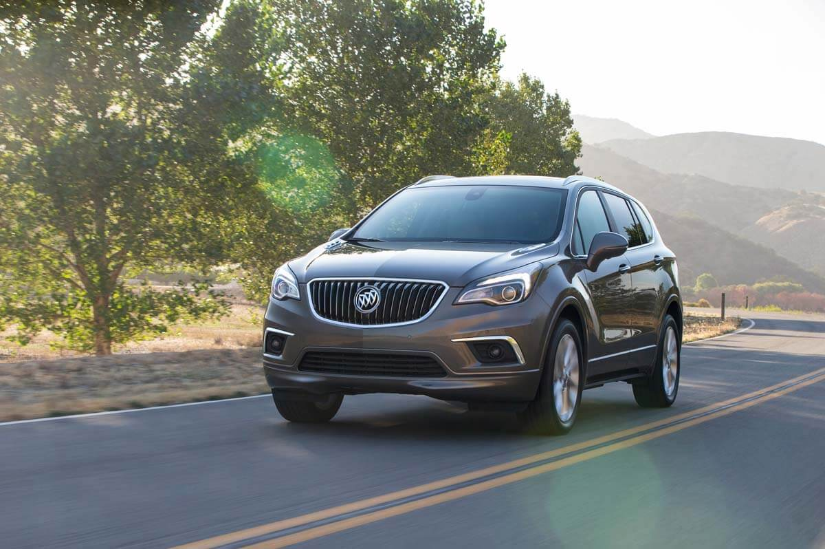 2016 Buick Envision Driving Front 3/4