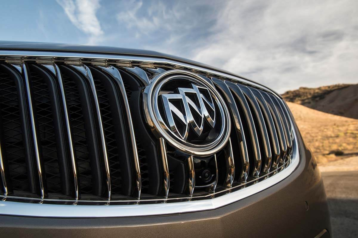 2016 Buick Envision Grille