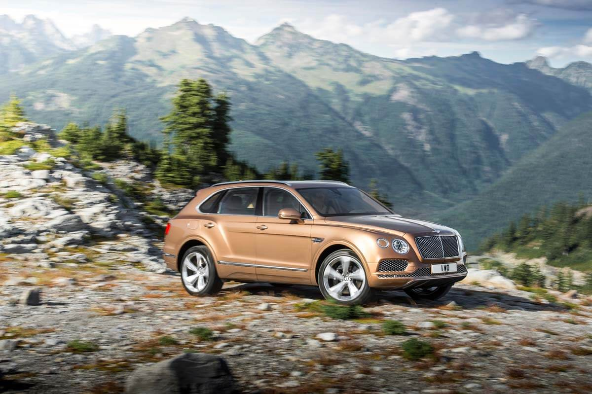 Bentley Bentayga Picture 1