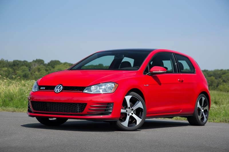 Affordable sports cars - 2016 Volkswagen Golf GTI