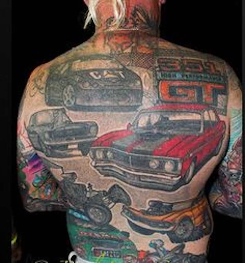 Car Tattoos 30 Totally Epic Car Tattoo Ideas
