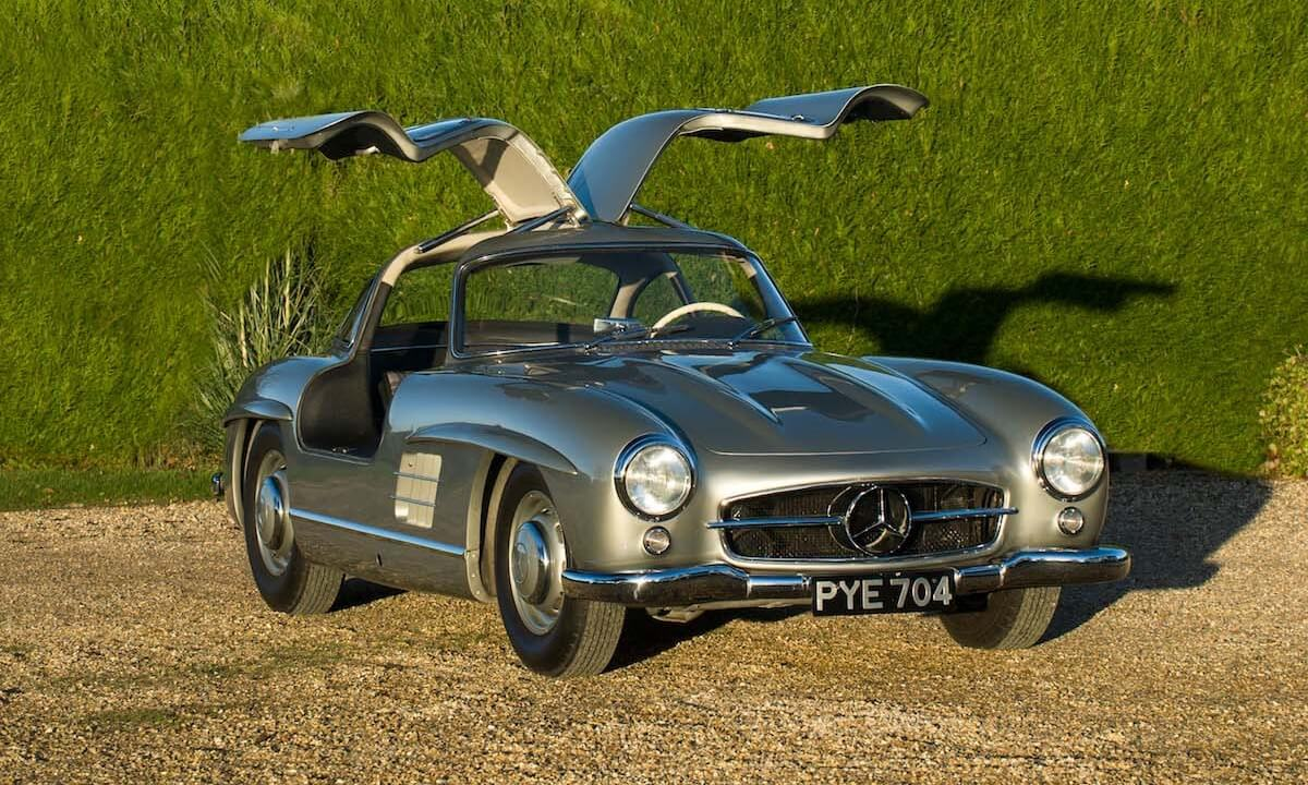 Mercedes 300SL Gullwing Bonhams auction 13