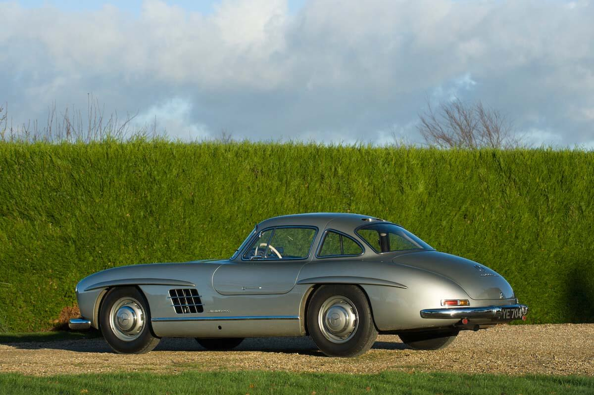 Mercedes 300SL Gullwing Bonhams auction 6
