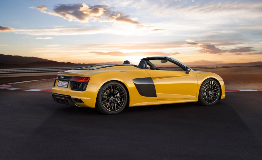The Audi R8 Spyder: Audi at its Most Extreme