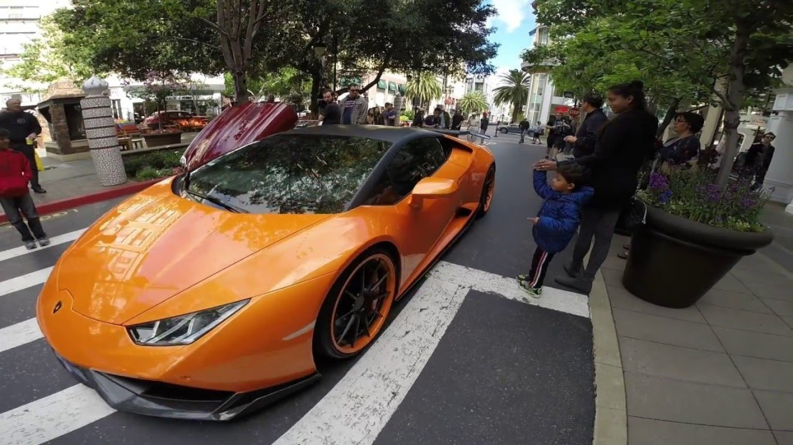 2016 Santana Row Exotic Car Show