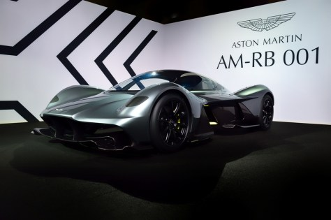 Aston Martin and Red Bull Racing unveil radical AM-RB 001 hypercar