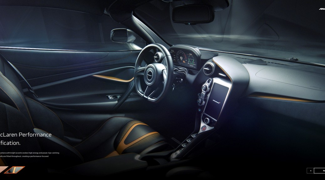 Choose the Perfect Model for You with McLaren's Online Configurator