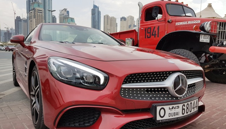 The New Mercedes-Benz SL 400 Aims to Claw its Way up the Pecking Order