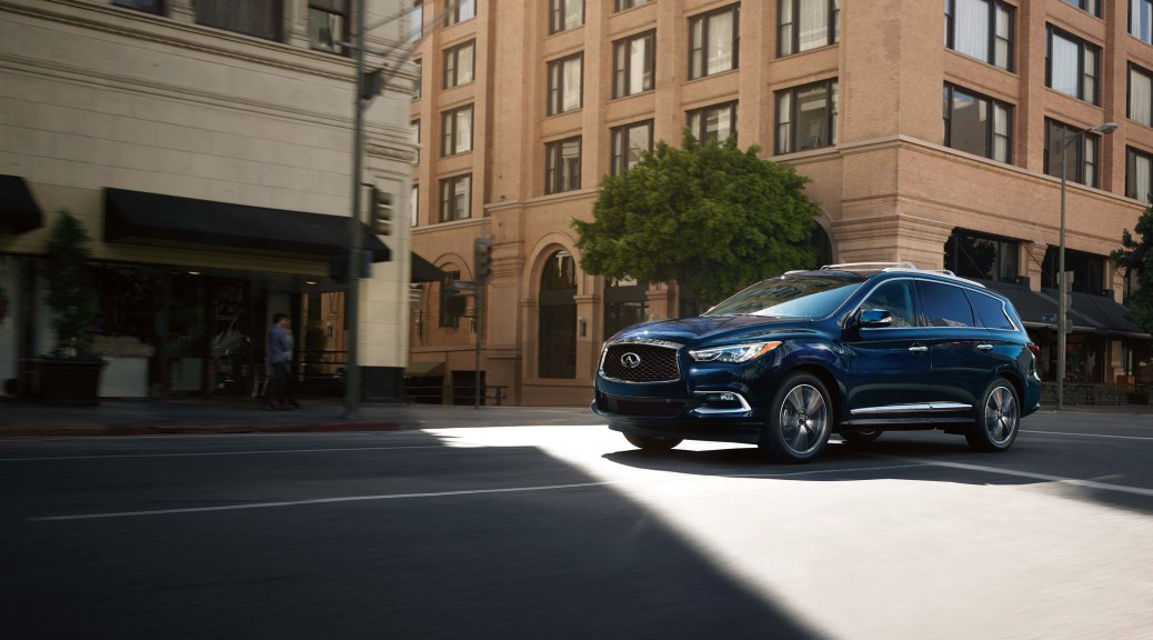 The 2017 INFINITI QX60 Redefines Vehicle Safety with Cutting-Edge Technologies