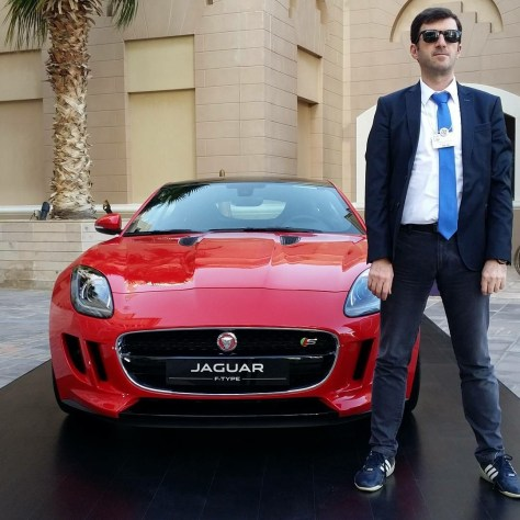 Hassan Soukar-automotive Influencer-Jaguar F-Type
