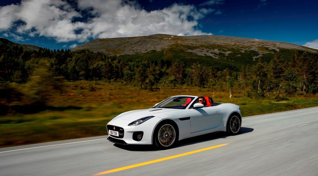 The New Jaguar F-Type Gains Turbocharged Four-cylinder Petrol Engine