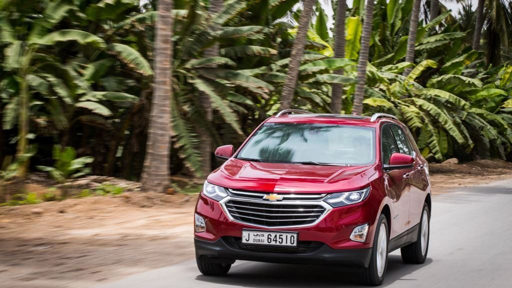 Chevrolet's First Nine-Speed Automatic Transmission in the Middle East Makes Its Debut in the 2018 Equinox Premier