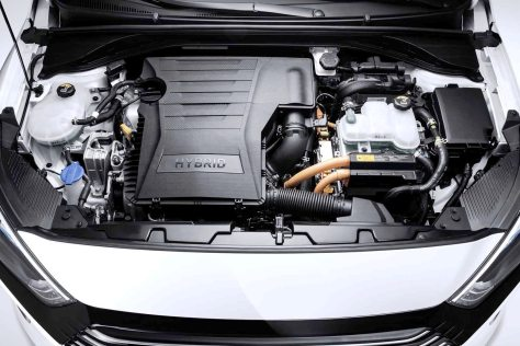 Hyundai-Hybrid engine