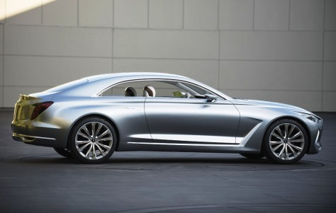 Hyundai Vision G-Coupe Concept-side shot