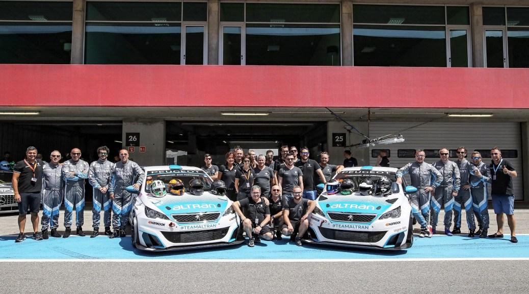 Team Altran Peugeot Ready for the 24H Dubai 2018