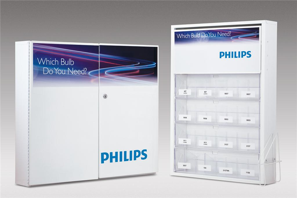 Philips Introduces Two New Automotive Bulb Cabinets For