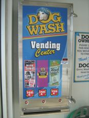 Dog Wash Vending machine!
