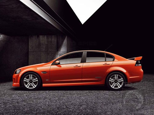 Chevrolet Lumina SS named 2007 Best Sports Saloon in Middle East