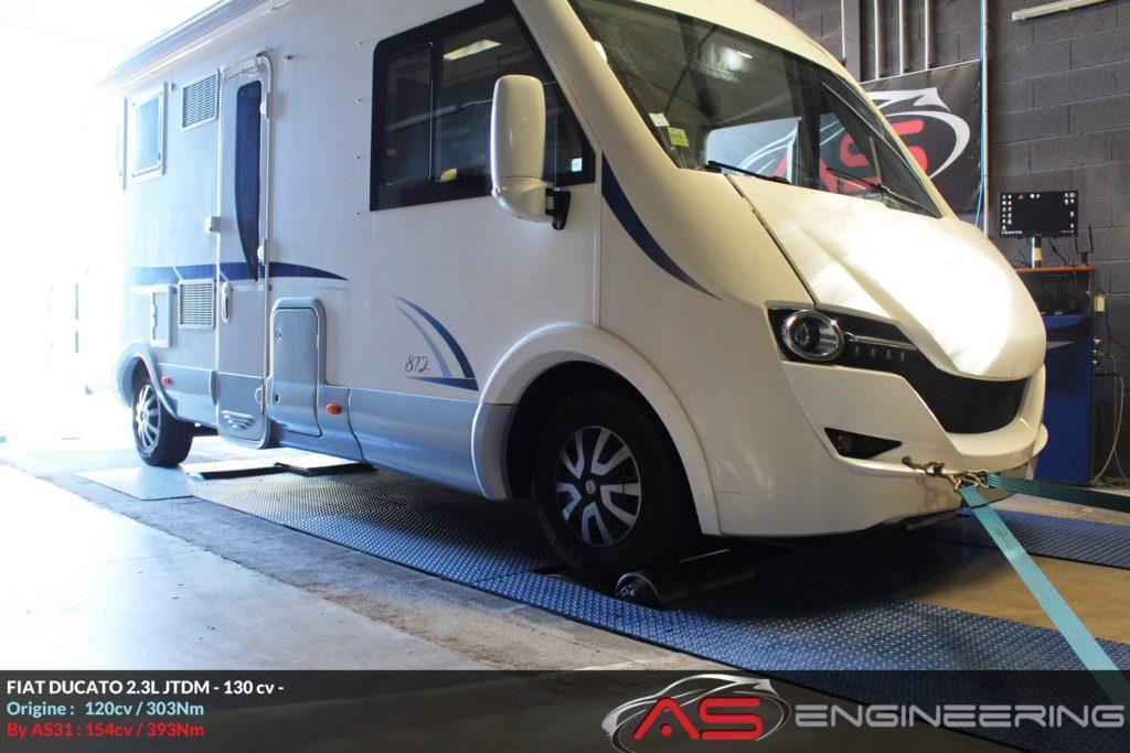 Reprogrammation Moteur Fiat Ducato 2 3l 130cv Camping Car As31 Reprog Moteur Proche Toulouse