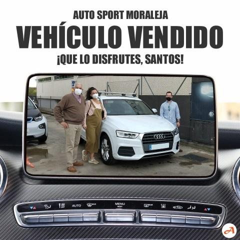 Santos y su familia se llevan este Audi Q3 a Toledo