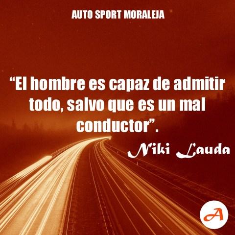 Frases del Motor - Niki Lauda