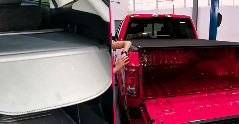 Difference Between Cargo Cover and Tonneau Cover