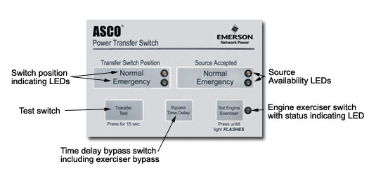 asco  series 300  automatic transfer switches