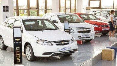 Chevrolet Lacetti Gentra в автосалоне в Узбекистане